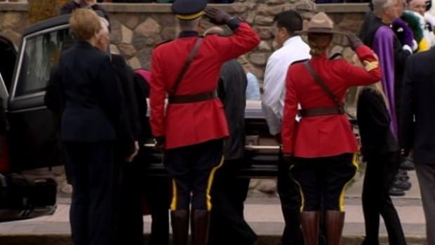 RCMP salute