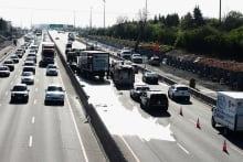Highway 417 eastbound Belfast crash May 20 2014