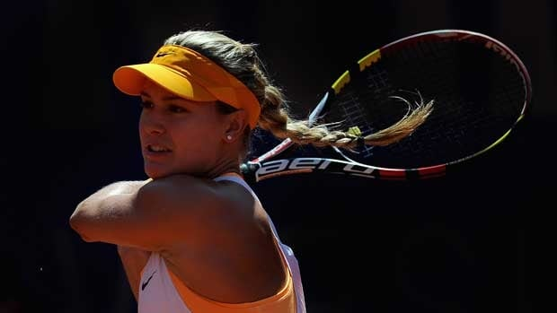 Eugenie Bouchard, seen in Nuremberg, is currently ranked 19th in the world.