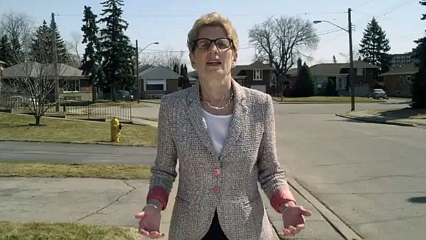 The Teacher: Ontario Liberal Leader Kathleen Wynne's latest commercials show her being direct.