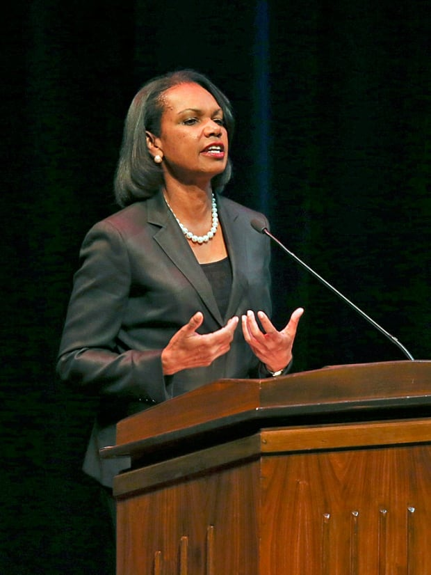 UMinn-Condoleezza Rice