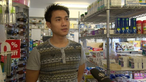 'The majority of the program for foreign workers, I think it's good,' says Jude Sese, who came from the Philippines to work at Iqaluit's Valupharm pharmacy. The president of the Northern Territories Federation of Labour says the use of the Temporary Foreign Worker Program in Nunavut has been allowed to suppress and lower wages.