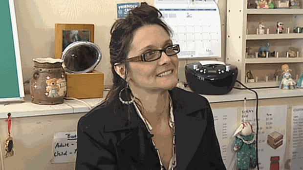 Mary Atkinson, volunteer at Frugal Furnishings