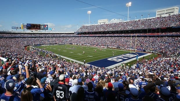 Under the current lease at Ralph Wilson Stadium, reached in December 2012, the Bills