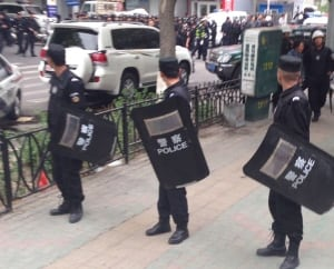 China Xinjiang Explosion
