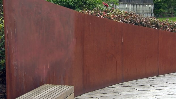 The Komagata Maru Memorial lost some of its rusty patina after a Vancouver Park Board crew used the wrong chemicals to remove graffiti.
