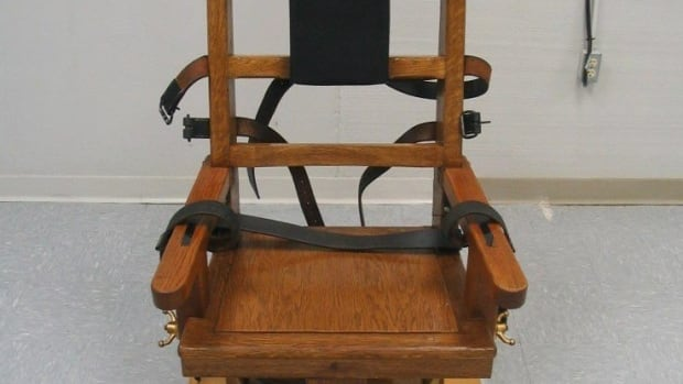 An electric chair which Virginia provides as an alternative to lethal injection. With lethal-injection drugs in short supply, Tennessee has decided to bring back the electric chair.