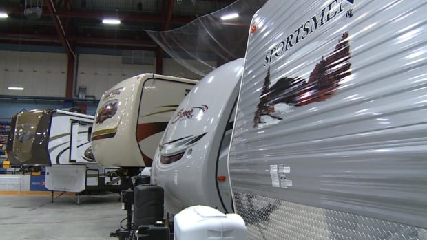 RV owners are worried that there are no businesses on the island properly set up to provide propane to motorhomes that have tanks attached to the vehicle.