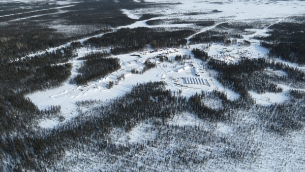 Noront resources plans to buy the Cliffs camp (on left) alongside Noront's Esker camp (right) in the remote Ring of Fire mining development.