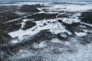 Noront mining camp Ring of Fire