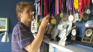 Tommy Des Brisay medals Ottawa running