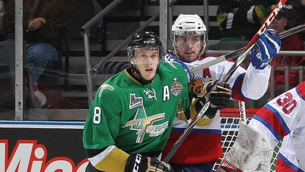 Anthony Mantha, left, helped lead Val-d'Or to the Quebec championship and a Memorial Cup berth.