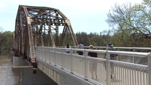 The Elm Park Bridge, affectionately known as the BDI Bridge, celebrated its 100th birthday Saturday.