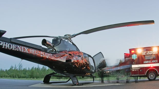 The president of Phoenic Heli-flight said the company is no longer able to afford running late-night medevac services for the Fort McMurray area. He's asking the province and local industry players to chip in to help cover costs.