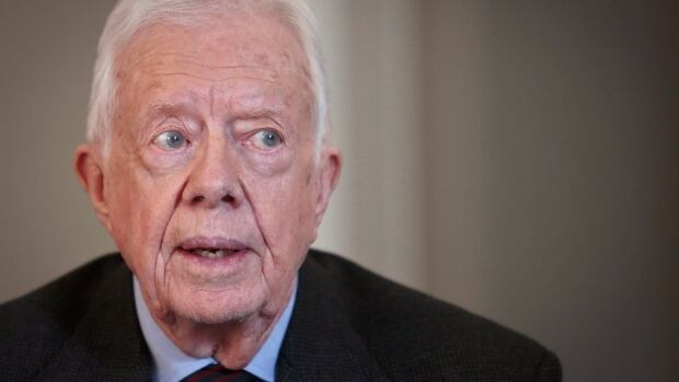 Former U.S. president Jimmy Carter is urging Canadian members of Parliament and Senators to adopt the Nordic model when updating the country's prostitution laws.