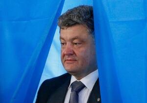 UKRAINE-CRISIS/POROSHENKO-VICTORY