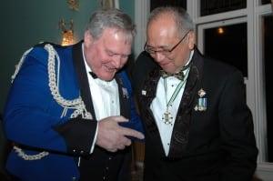 Bob Blacker and Steven Point