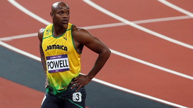 Asafa Powell lowered the world record in the 100 to 9.77 in 2005, then 9.74 in 2008 before being eclipsed by countryman Usain Bolt.