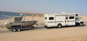 Ralston boat and camper