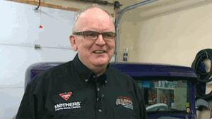 Bill Doherty, vintage car aficionado