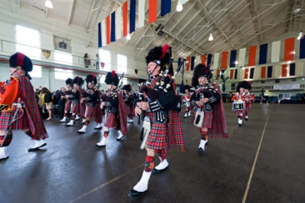 Vancouver police pipe band