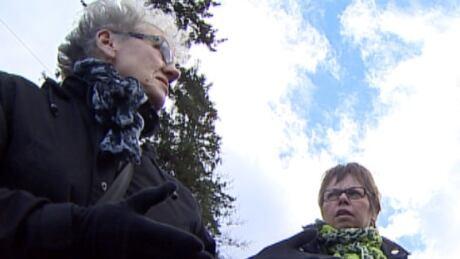 Jeanne Sarson and Linda MacDonald help torture victims.