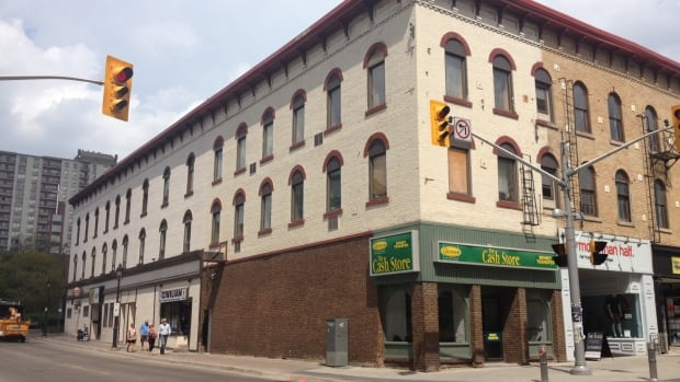 One Of Kitchener S Oldest Buildings Gets New Life Kitchener Waterloo Cbc News
