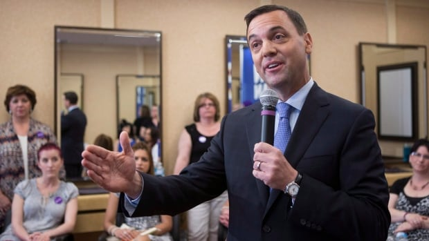 PC Leader Tim Hudak will campaign in Toronto on Thursday, a day after he was forced to defend the math of his jobs plan.