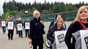 B.C. teachers' strike