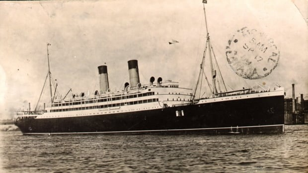 The Empress of Ireland is shown in an undated photo. The Canadian Pacific steamship collided  with a Norwegian coal ship near Rimouski, Que. on May 29, 1914, sinking in 14 minutes and killing 1,012 people.