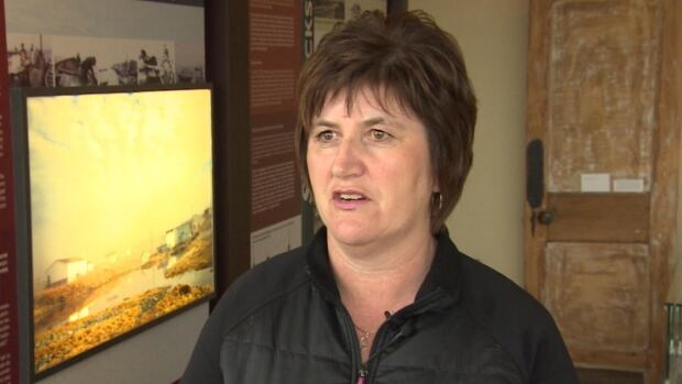 Gertie Molloy says the lack of work on the roads leading to Mistaken Point and Cape Race means less money for the heritage group.