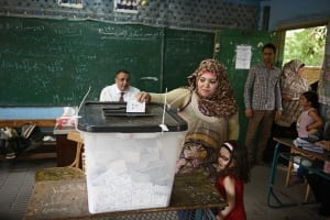 Egypt election vote