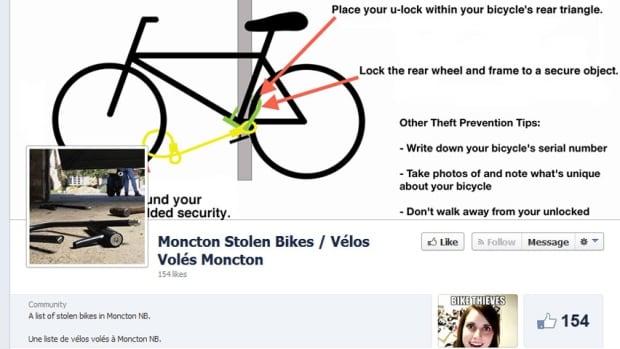 Moncton Stolen Bikes