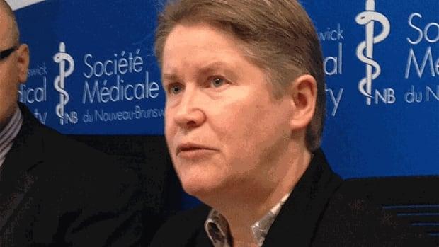 Dr. Lynn Hansen, president of the New Brunswick Medical Society