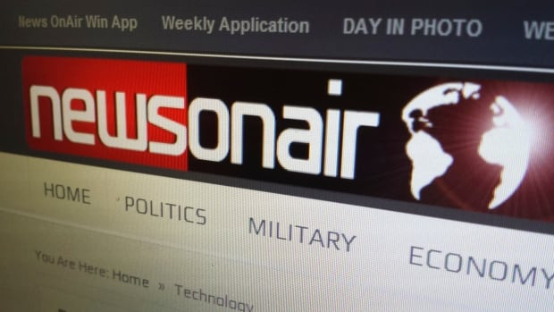 "Iranian hackers created six ""personas"" who appeared to work for a fake news site, NewsOnAir.org."