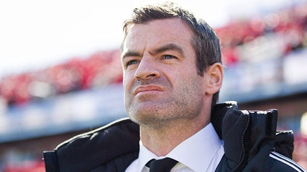 Toronto FC manager Ryan Nelsen was upset with a straight red card given to defender Steven Caldwell for a high tackle on Sporting's Antonio Dovale and with a penalty awarded to Kansas City late in the game last Friday.
