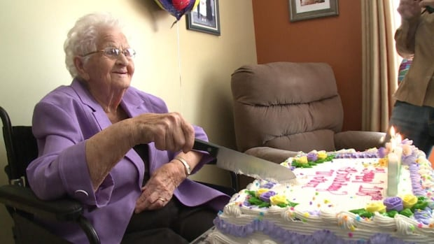 Frances Peddle, the oldest person in Newfoundland and Labrador, celebrated her 108th birthday on Thursday with family and friends.
