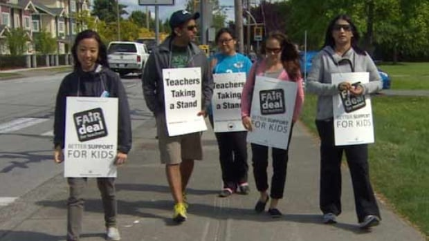 The B.C. Teachers' Federation will vote next week on escalating the current rotating strike action to a full-scale strike.