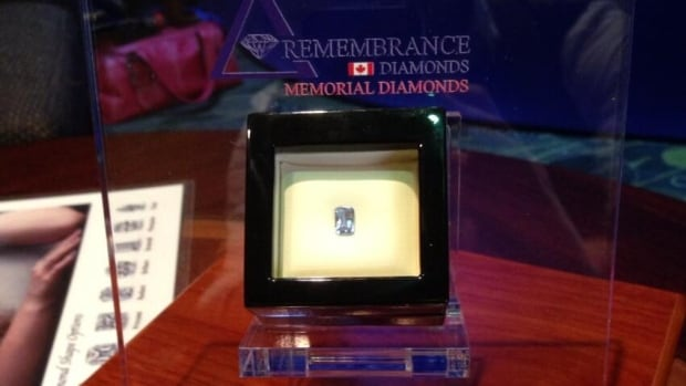 In a part of a shifting landscape in the funeral industry, people can now memorialize their loved ones by converting their ashes to a diamond, writes CBC's Azzo Rezori.
