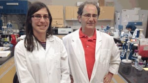 Natalie Lefort and Marc Surette at the University of Moncton are studying Ahiflower oil