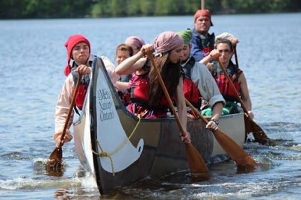 Métis Nation of Ontario 2014 canoe expedition