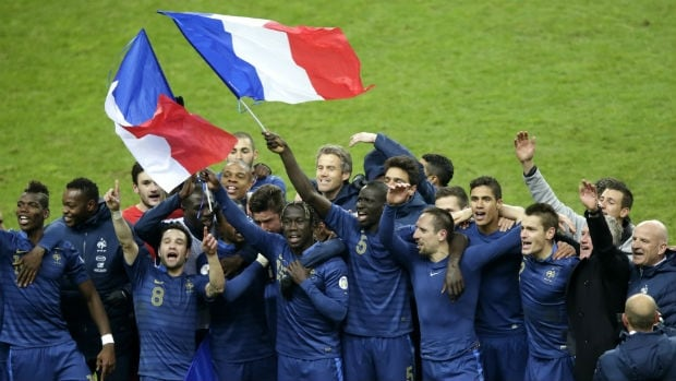 France needed a 3-0 victory over Ukraine to qualify for the World Cup.