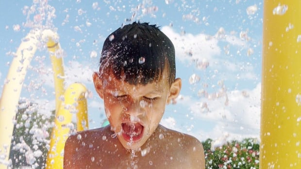 """Humid conditions are supposed to stick around through Friday, leading to what Environment Canada says could be the """"longest and most significant heat wave of the summer so far."""""""