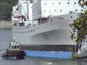 HMCS Protecteur back in B.C. waters