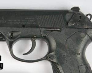 9 mm handgun