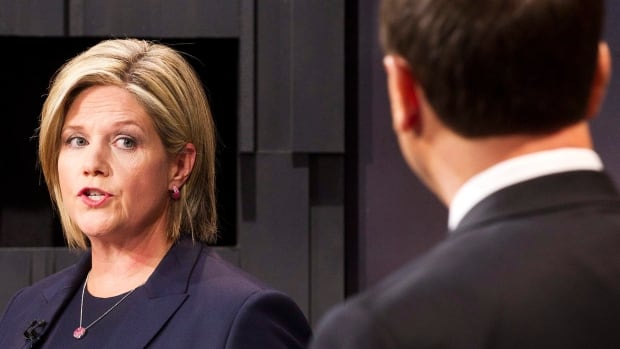 NDP Leader Andrea Horwath, left, and PC Leader Tim Hudak will get a rematch of their 2011 election debate on Tuesday night. And while their Liberal opponent this time will be Kathleen Wynne, both will be trying evoke the legacy of her predecessor, Dalton McGuinty.