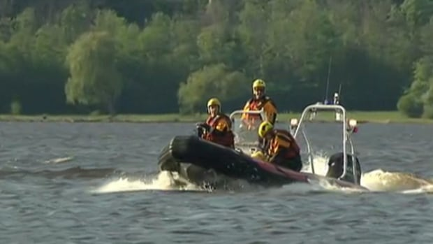 Emergency crews search the Ottawa River after a dinghy carrying a man capsized in the Deschênes Rapids on June 1. The body of 24-year-old Mykhaylo Novikov was found more than a week later.