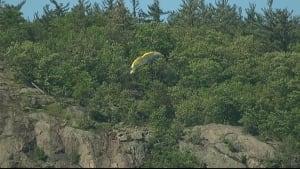 paragliding incident gatineau park