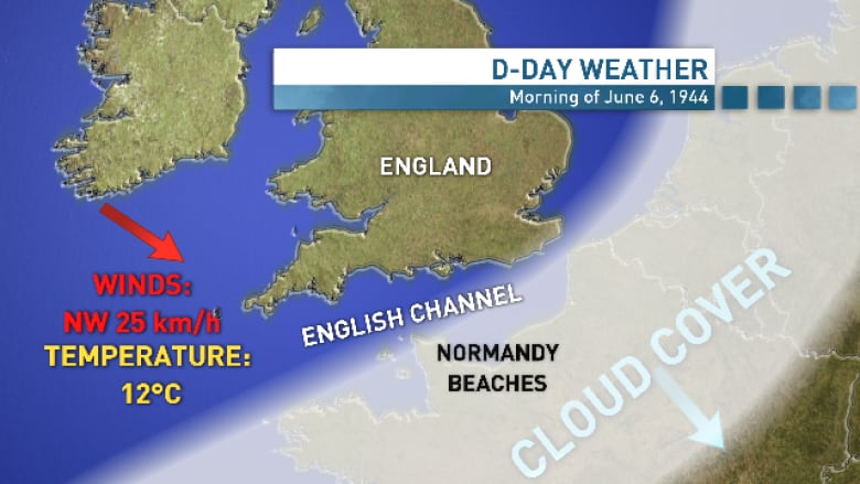 The gutsy weather forecast that changed D-Day | CBC News
