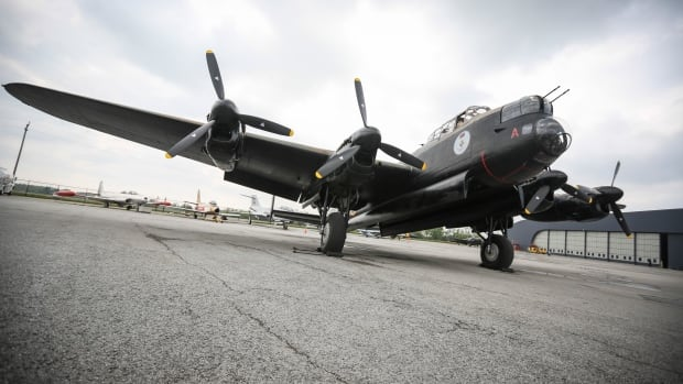 Hamilton's Lancaster bomber, Vera, safely flew about 250 kilometres from Durham Tees Airport to RAF Coningsby on Wednesday, marking its return to the sky after it was forced to have one of its engines replaced.